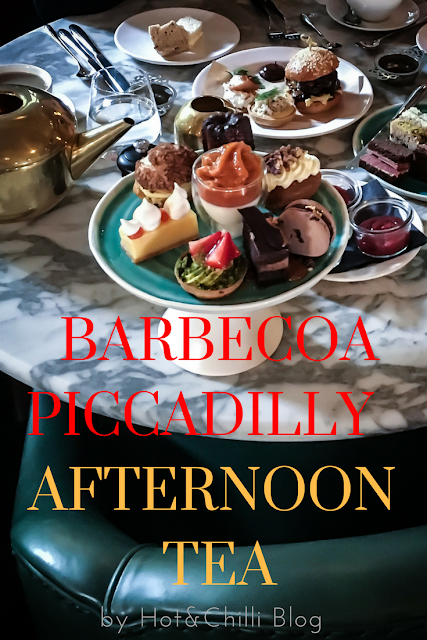 Afternoon tea at Barbecoa Piccadilly
