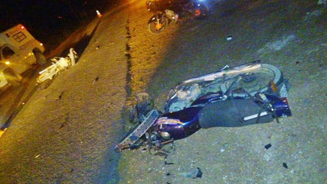 Duas pessoas morrem em colisão frontal de motos em Marcolândia