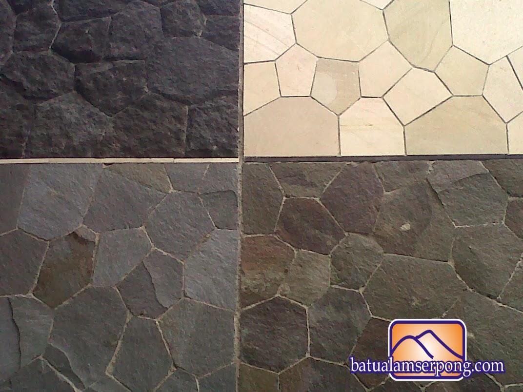 model batu alam untuk dinding