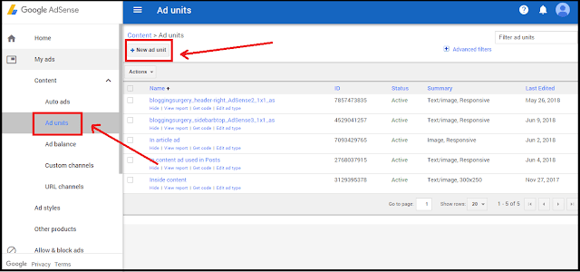 Adding Adsense Ads Manually To Blogspot (Step 1)