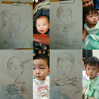 Live Caricature Drawing Event Jakarta