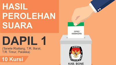 Ini Caleg Terpilih DPRD Kabupaten Bone Dapil 1 Hasil Rekapitulasi KPU
