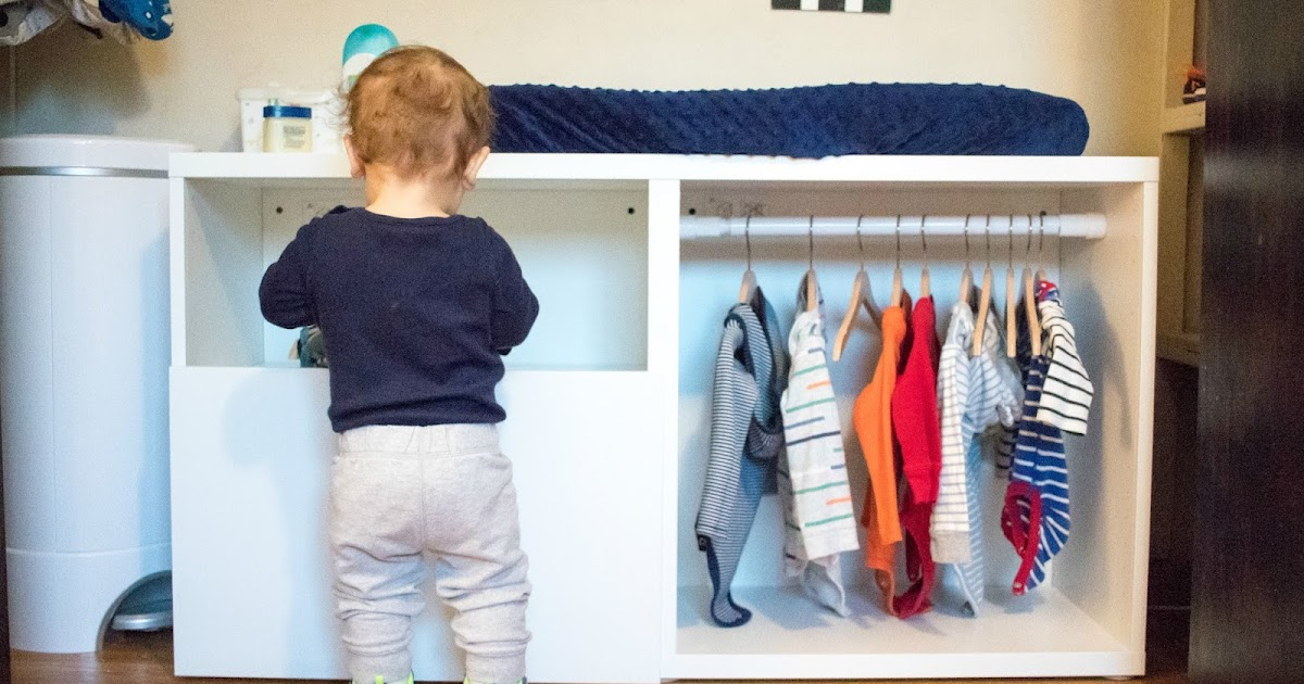 Montessori Toddler Wardrobe Ikea