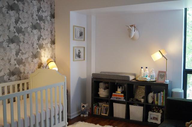 Nursery Reveal with Newton