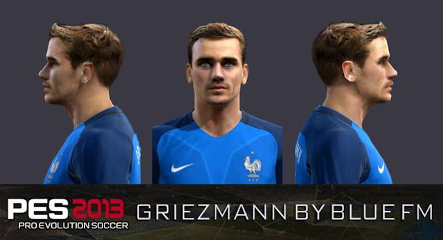 Antoine Griezmann New Face - PES 2013