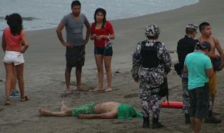 Muere ahogado un joven de Puebla en Playas de Boca del Rio
