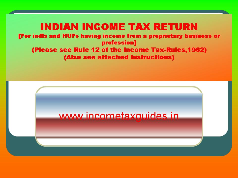 income tax online filing guide