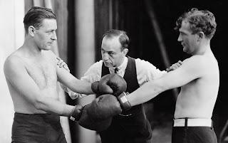 Referee Separating Boxers