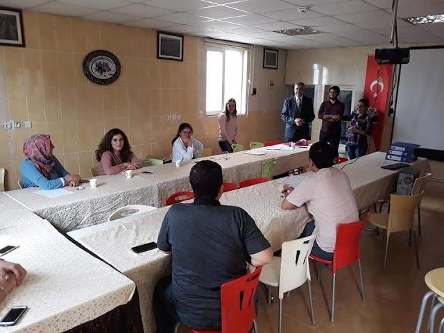 Bozova'da işaret dili eğitimi