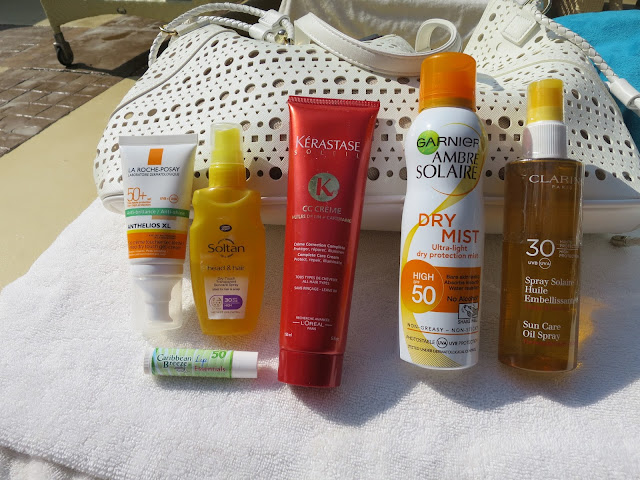 How To Protect Your Skin On A Winter Sun Holiday with La Roche Posay, Caribbean Breeze, Kerastase, Soltan, Clarins and Garnier Ambre Solaire Image