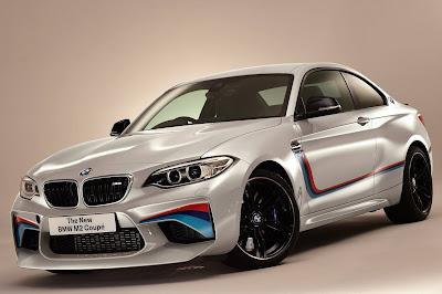 Kereta Sport BMW M2 Warna Putih