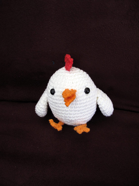 Spring Crochet Projects - Crochet Amigurumi Chicken