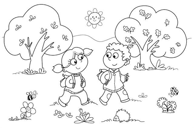 planse de colorat-ziua copilului