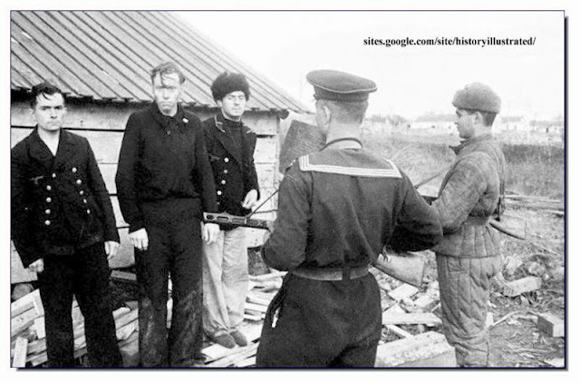 Captured German POW  Crimea. 1944