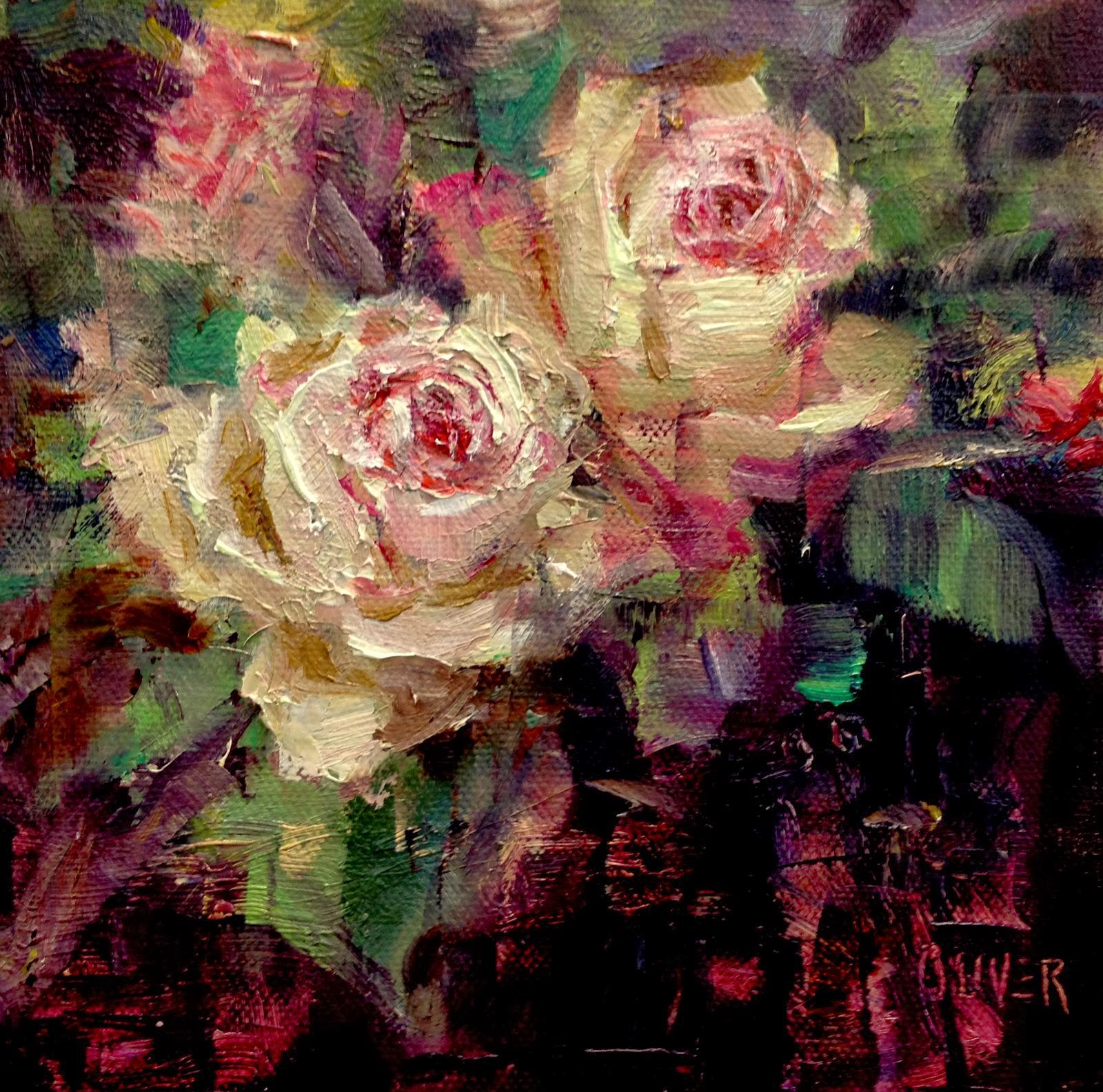 Art talk julie ford oliver birthday flowers roses birthday flowers roses izmirmasajfo
