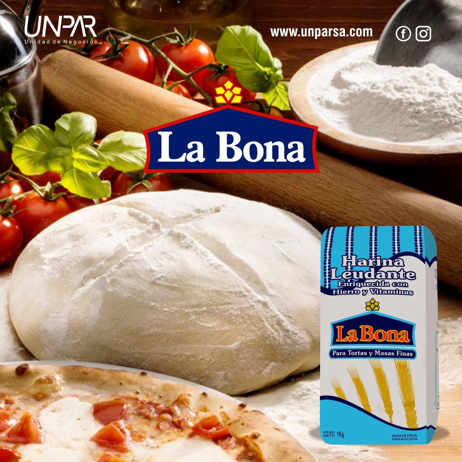 receta de pizzas caseras con harina leudante