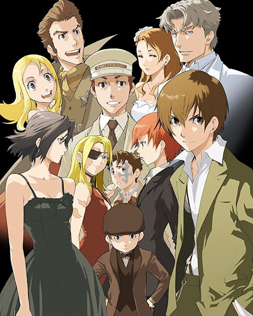 Baccano (1-13) + OVA Sub Indo Batch Download