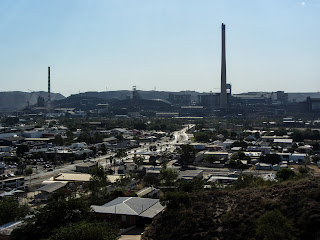 View from the small hill in Mount Isa