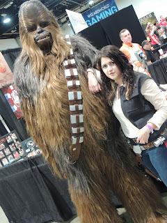 las vegas chewbacca han solo jassa rae cosplay