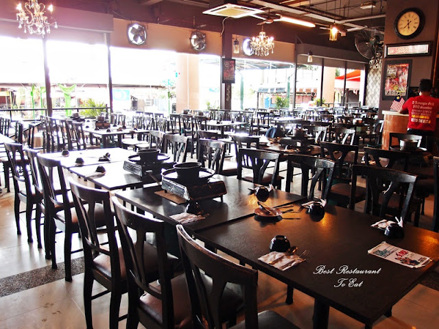 D'Kayangan Steamboat BBQ Buffet Restaurant Shah Alam Interior