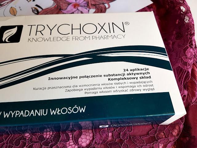 trychoxin - kuracja przeciw wypadaniu - kuracja trychologiczna - szampon przeciw wypadaniu - ampułki przeciw wypadaniu - delia cosmetics - wypadanie włosów - łysienie - pielęgnacja włosów po zimie
