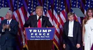Clinton felicitó a Trump por su victoria en las elecciones presidenciales