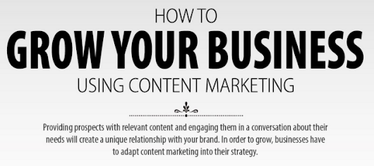 How to Grow Your Business Using Content Marketing