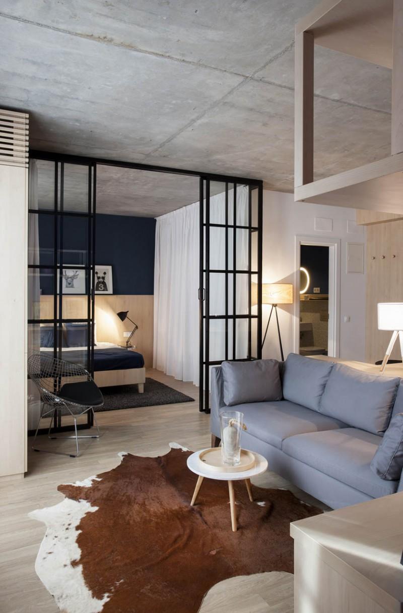 Khám phá phong cách thiết kế căn hộ 52m2 cực chất - H2