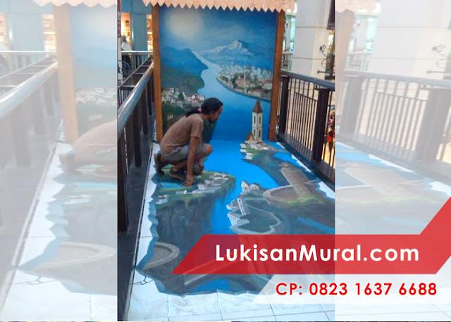 3d mural floor