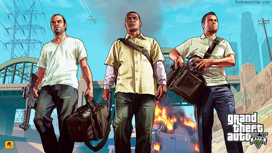 Grand Theft Auto 5 (GTA 5) a game like red dead redemption