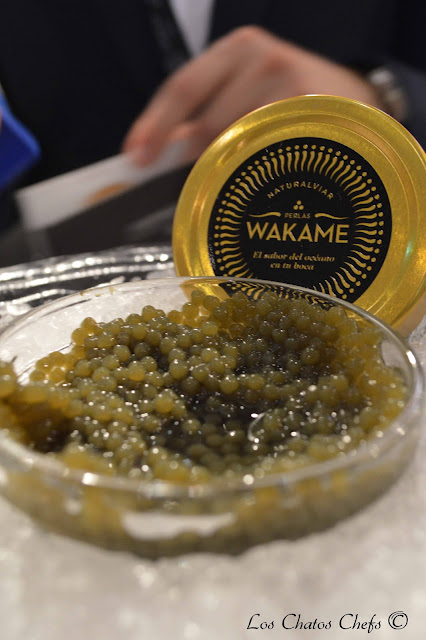 Perlas de wakame Naturalviar