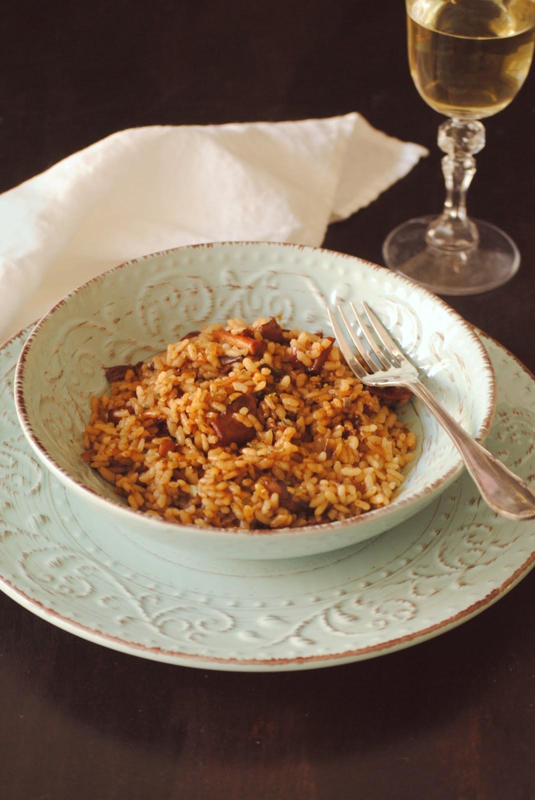 Cocinando con neus arroz con calamares en conserva en su tinta - Cocinar con conservas ...