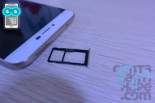 Coolpad Max Lite - slot paling menjengkelkan, hybrid card slot