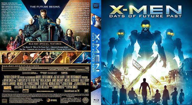 Capa Bluray X Men Days Of Future Past