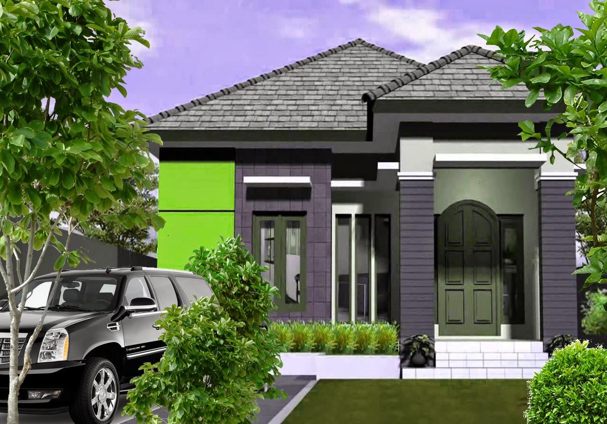 Rumah Minimalis 1 Lantai 3 Kamar Tidur Tampak Depan Desain Rumah