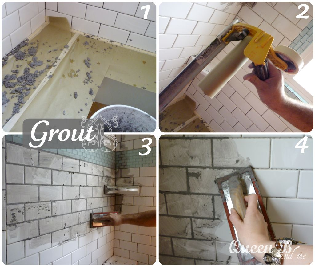 Subway tile tutorial subway tile tutorial part 2 how to transform your bathroom into something beautiful dailygadgetfo Image collections