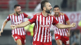 Greece Super League: Watch Olympiacos vs Lamia live Stream Today 16/12/2018 online
