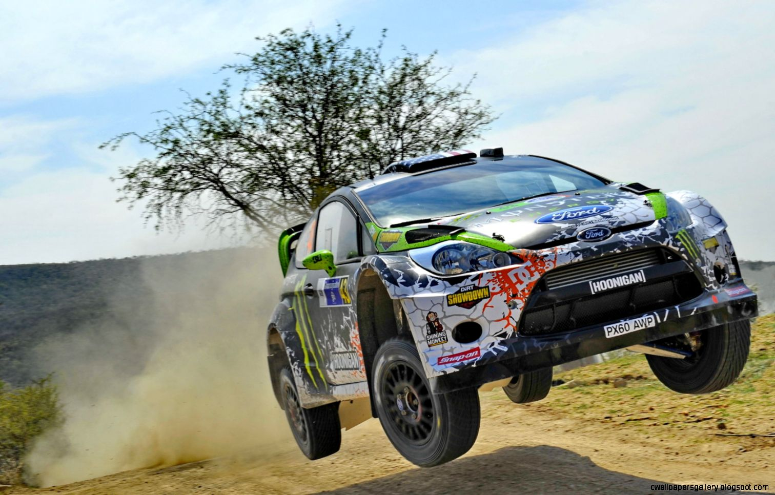 Ken Block Rally Car Jump  Amazing Wallpapers