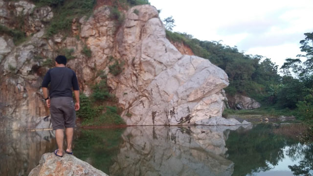 Kolam Alami Tanpa Nama Mandalare