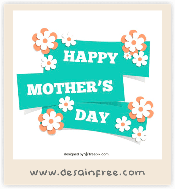 Template Kartu Ucapan dan Banner Hari Ibu (Mother's Day)