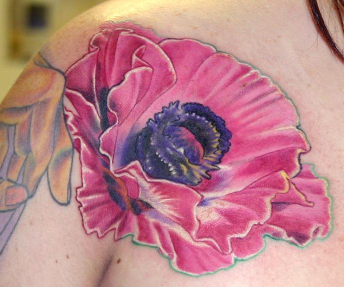 Poppy Flower Tattoo Meaning: Poppy Tattoo