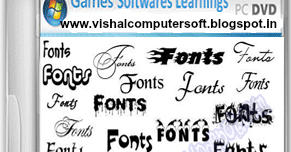 Fonts Collection Part 1 Free Download - Vishal Computer And Software
