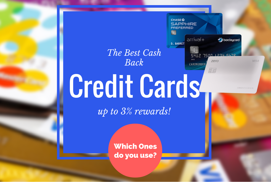 in this post im going to show you the 3 cards everyone should have including one of which gives you an insane 3 cashback on all purchases - Best Credit Card Rewards Offers
