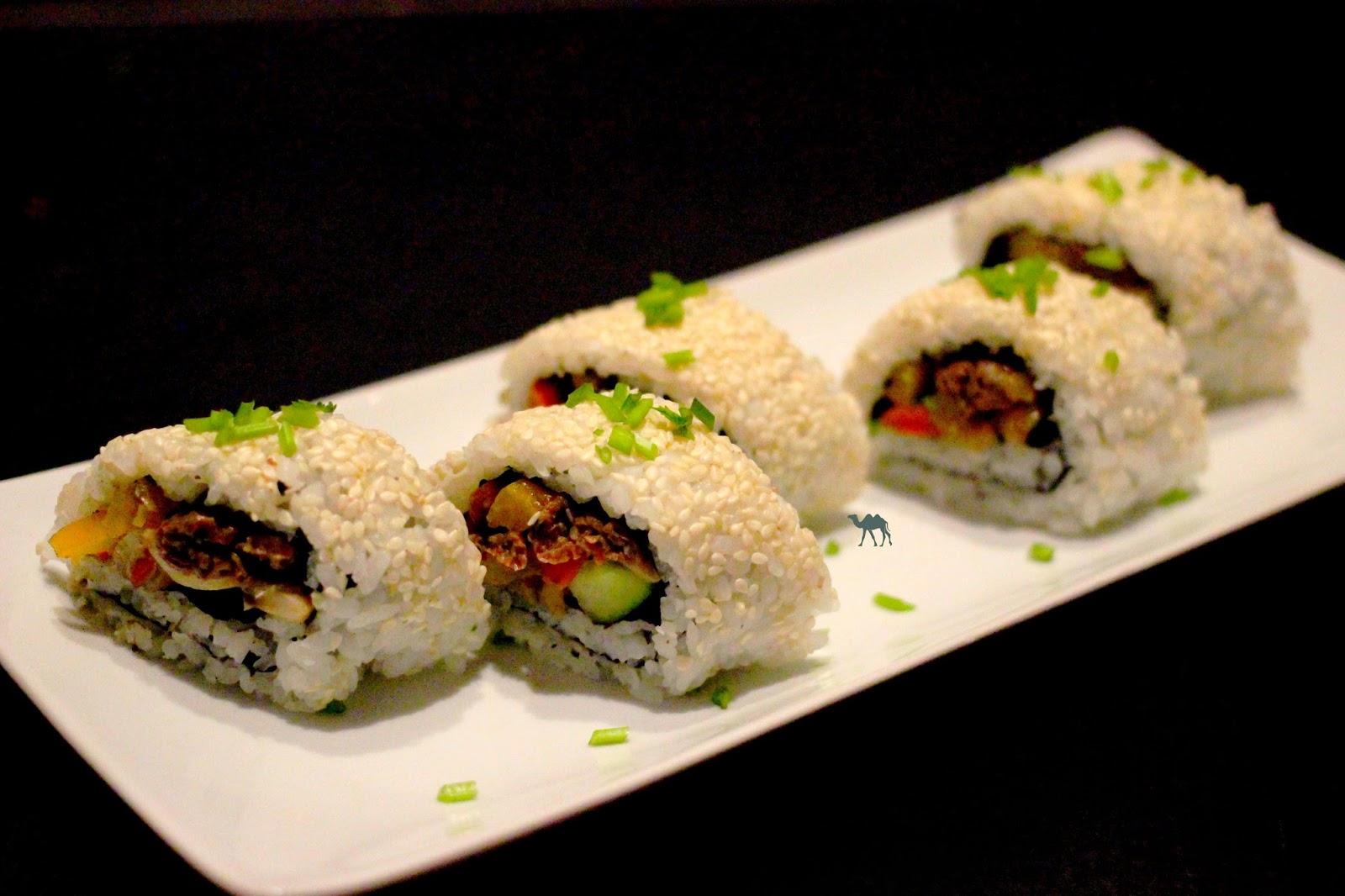 Le Chameau bleu - Recette du Maki Bulgogi - Cuisine asiatique fusion