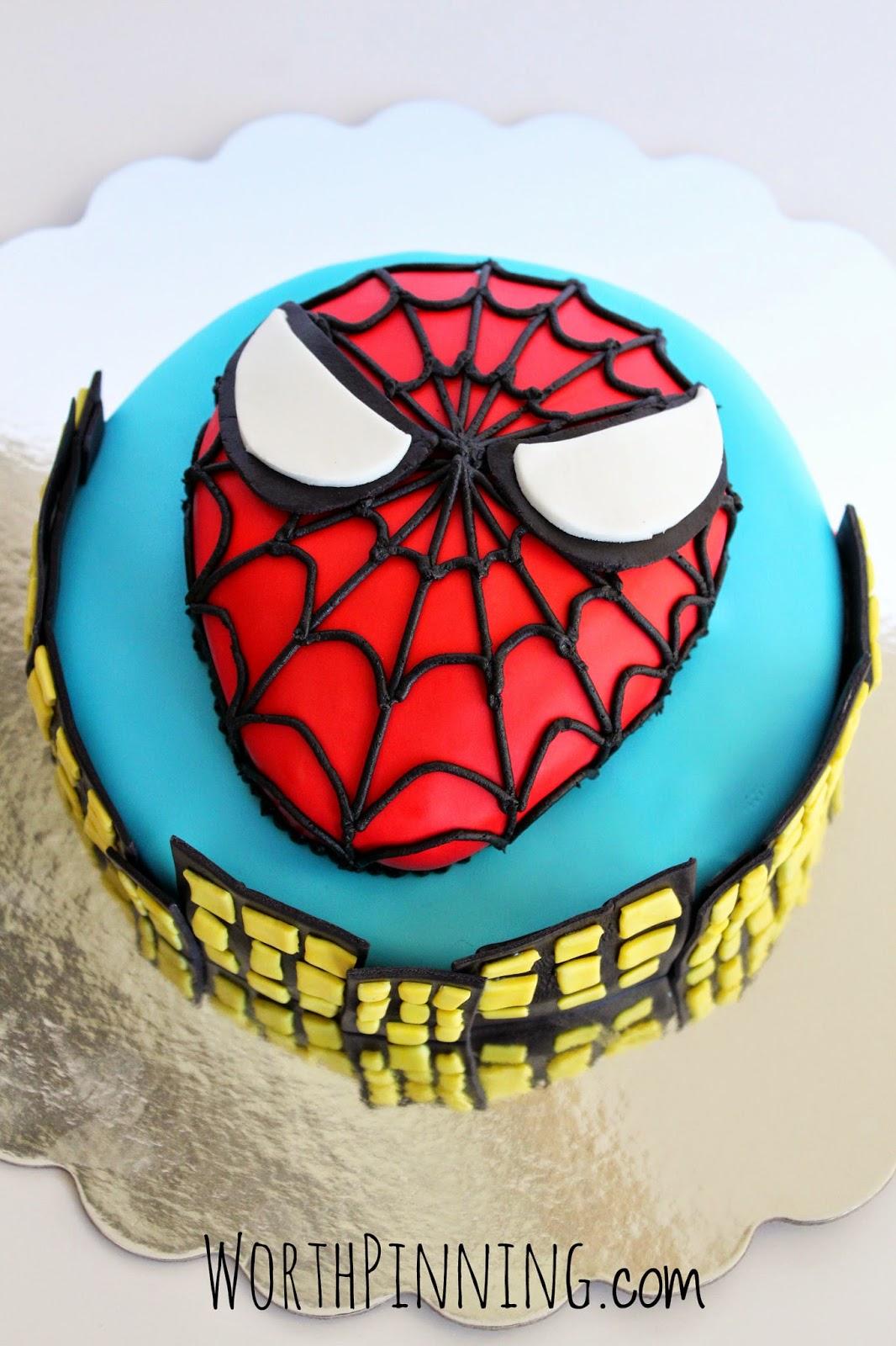 Worth Pinning An Amazing 7 Year Old Boy Spider Man Cake