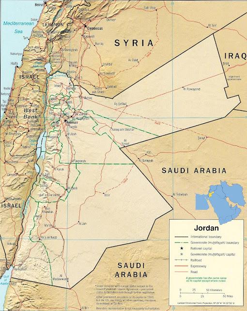 Mientras tanto, en Jordania...