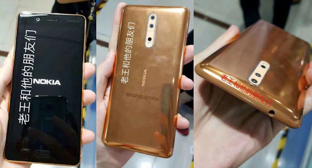 Nokia 8 Will Have a Gold Color Variant?