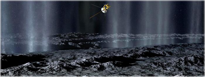 vida marinha em encelado - NASA irá conhecer composição quimicade seu oceano global