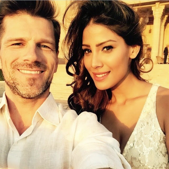 shooting , at the palace in jodhpur with @martinoprihoda love , the location. sunny day , nicole faria , frederique constant , 2015 , india ,, Nicole Faria Hot face close up selfie images
