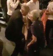 Video in which Premier Ranil has a dance with Iranganie Serasingha